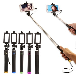 Image 4 - Selfiestick extensível para huawei p30 p20 companheiro 20 pro lite p inteligente 2019 nova 4 3 3i com fio selfie vara bastone selfi para movil