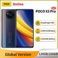 POCO X3 Pro глобальная версия 128 ГБ/256 ГБ Snapdragon 860 смартфон 6,67 ''120 Гц DotDisplay 5160 мА/ч, 33 Вт Быстрая зарядка 48MP Камера NFC