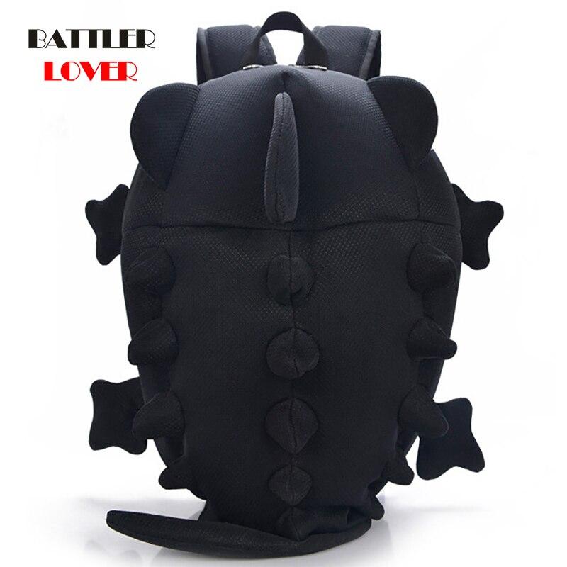 3D Chameleon Backpack Fashion Women Backpacks Newest Stylish Black Canvas Bagpack Girls School Bags Unisex Animal Shape Shoulder