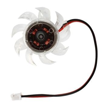 Plastic Mini Cooling Fan Heatsink Cooler DC 12V for PC Computer GPU