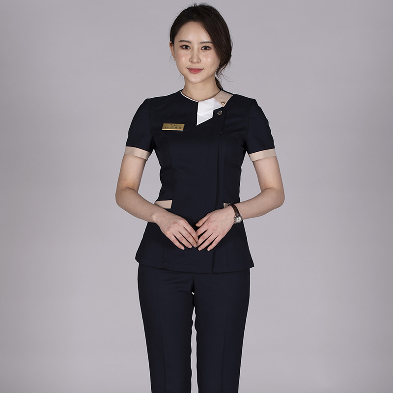Summer New Maternal, Infant And Child Care Center Work Clothes Pants Foot Massage Foot Bath Technician Work Clothes Beautician