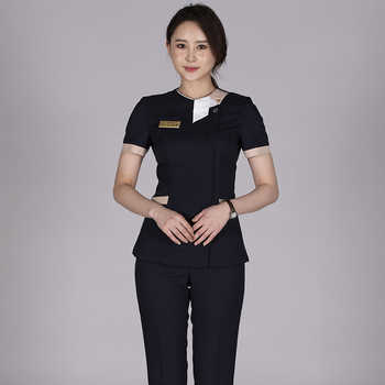 Summer New Maternal, Infant And Child Care Center Work Clothes Pants Foot Massage Foot Bath Technician Work Clothes Beautician - DISCOUNT ITEM  15% OFF All Category