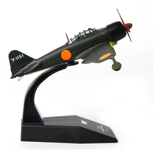 ZERO A6M3 Strike Fighter Simulation Model 13cm Length 1:100 Scale for Ornaments Collection or Airshow