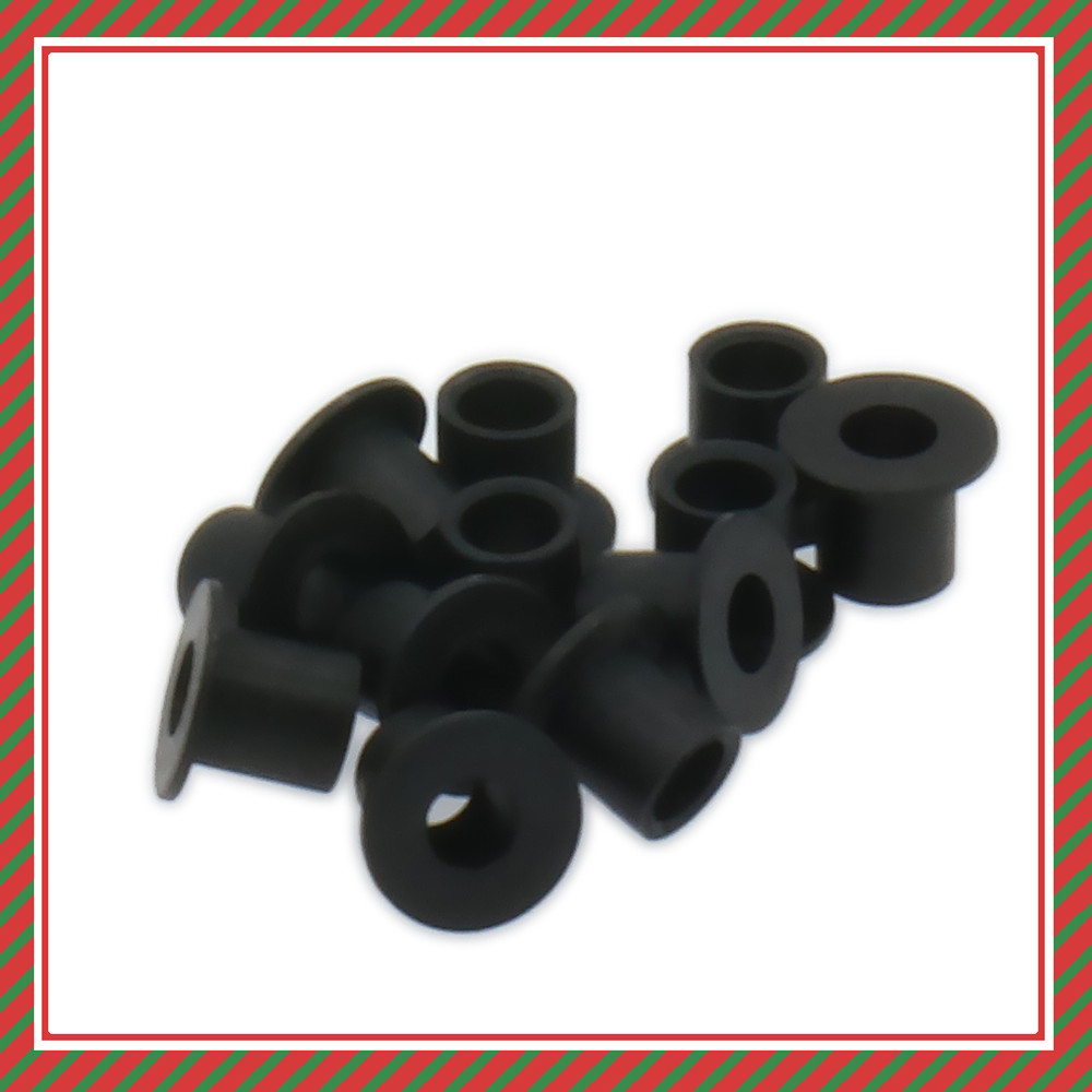 10pcs Steering Plate Bushing For 1//10 R//C Model Car Spare Parts Fit  Bullet T