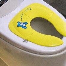 Cushion Potty-Seat Toilet-Training-Seat Travel Mat Chair-Pad Urinal Folding Toddler Baby