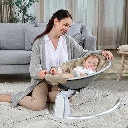 Elektrische Baby Türsteher Baby Schaukel Stuhl für Kinder Wiege Bett Baby Schaukel Stuhl Neugeborenen mit Bluetooth Gürtel Fernbedienung