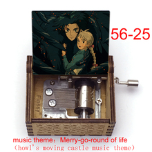 Toy Music-Box Moving Castle Christmas-Gift Merry-Go Birthday Japanese Anime Round-Of-Life