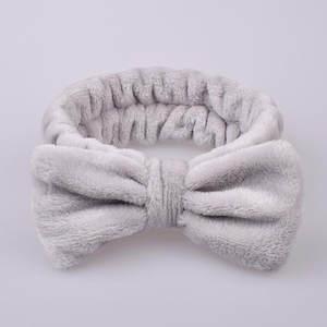 Makeup Headband Hair-Accessories Elastic-Headwear Bow-Knot Women Ladies YJ Cute Lady