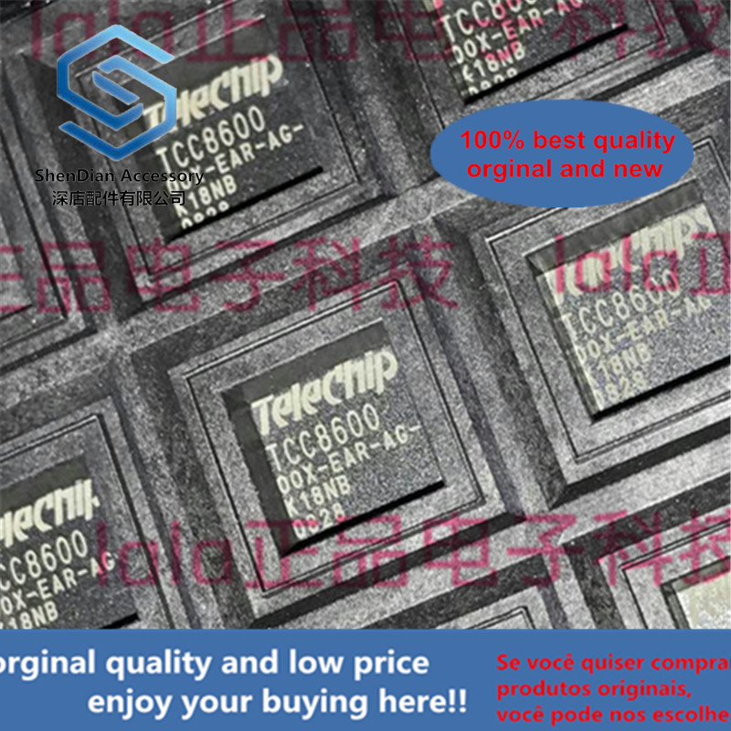 1pcs 100% Orginal New TCC8600-00X-EAR-UG Telechips QFP-128 TCC8600 In Stock
