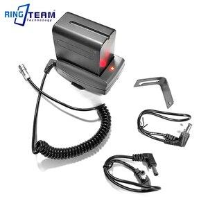Image 2 - DC 12V NP F970 Battery Power Supply System Mount Adapter Plate Holder for BMPCC4K BMPCC6K Blackmagic Pocket Cinema Cameras 4k 6K