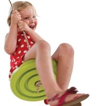 Childrens Swing Boys Girls Plastic Disc Indoor Room Outdoor Activities Toy Hang Park Equipment