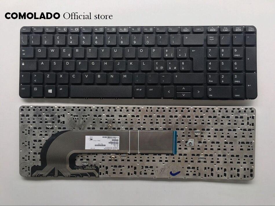 Italian Portguese Belgium Spanish Turkish Nordic Keyboard For HP PROBOOK 450 G0 G1 470 455 G1 450 G2 455 G2 470 G0 G1 G2 S15 S17
