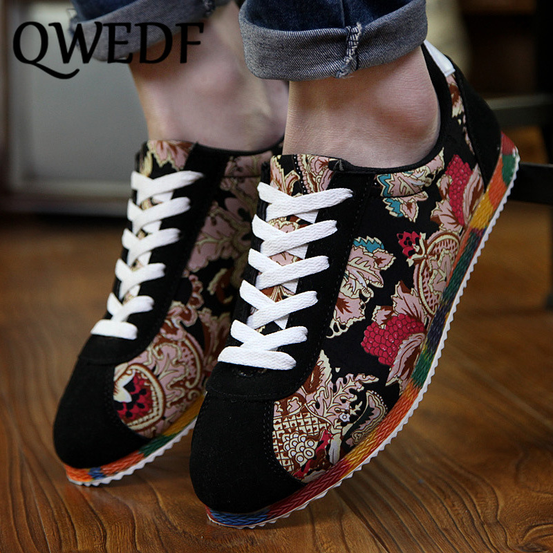 QWEDF Spring new men's shoes Korean version of the trend of shoes wild casual  shoes casual shoes