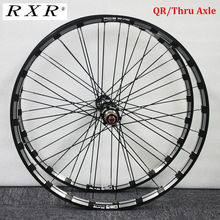 "RXR karbon Hub MTB tekerlek/26/27 5/29 ""dağ bisiklet fren diski 5 rulmanlar bisiklet tekerlek setleri 7 11Speed Thru aks/QR MTB jantlar"