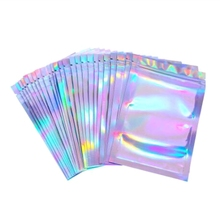 Sexy Lingerie Glove Packaging-Socks Lock-Bags Holographic-Storage-Bag Cosmetics Xmas-Gift