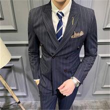 Мужские костюмы новинка 2020 двубортные приталенные 5xl takgirm