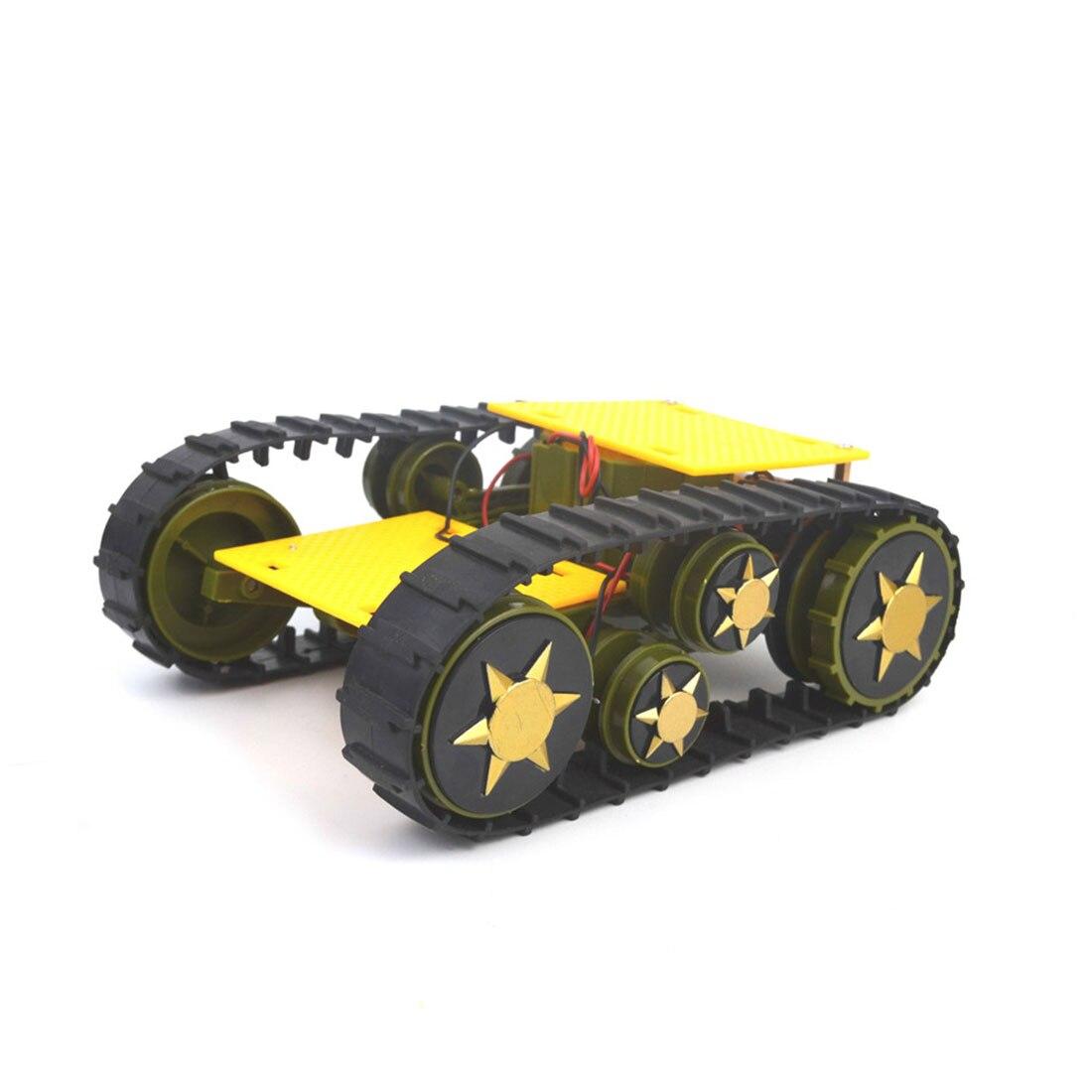 DIY Deformation Smart Tank Robot Crawler Caterpillar Vehicle Platform For Arduino SN1900 Educational Toy Gift For Kids Adults