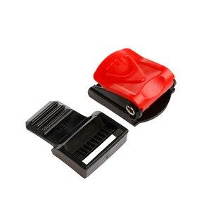 Image 3 - Мотоциклетные черные шлемы Зажим для ремня безопасности Чехол для ремня безопасности Пряжка подбородок ремень быстросъемная пряжка