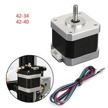 Areyourshop impressora 3d 42 40 42 34 x/y/z/e, motor de passo para 3d creality ender 3 pro CR-10