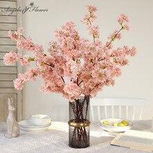 100cm Silk Künstliche Blume Kirschblüte Hochzeit Arch Hintergrund Dekoration Zubehör Wohnkultur Gefälschte Blume Foto Requisiten
