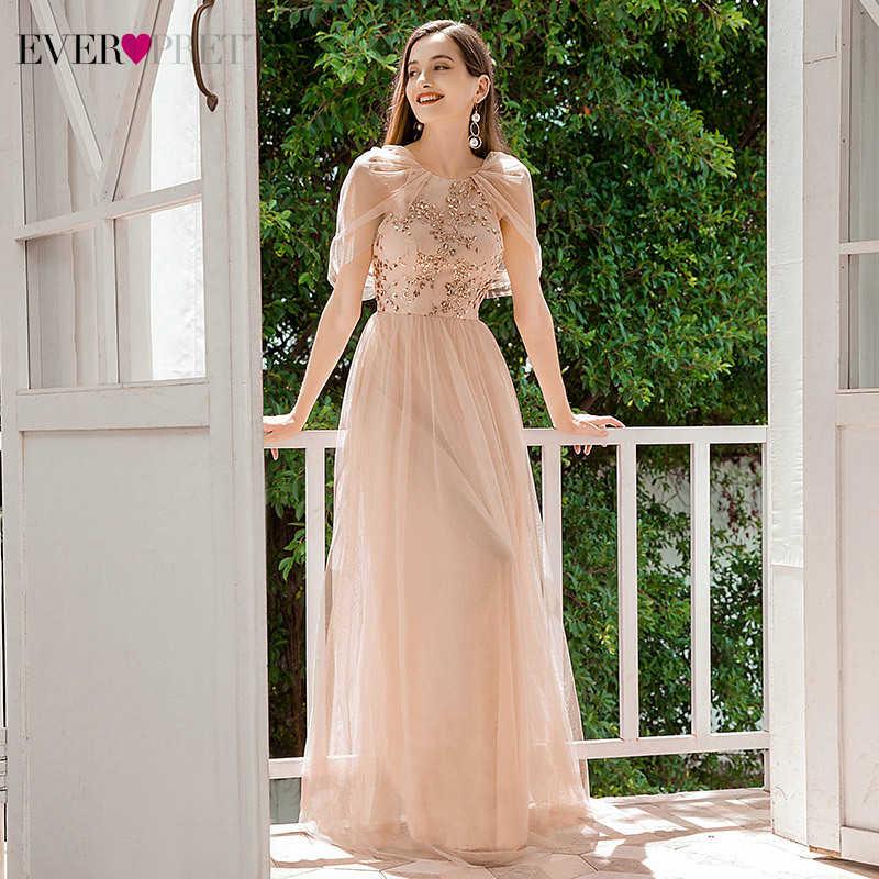US Ever-Pretty Spaghetti Straps Long Chiffon Bridesmaid Prom Dresses Ball Gowns