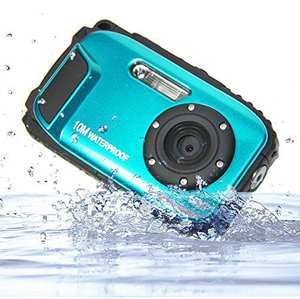 Waterproof Camera 16MP Digital-Video-Camera Camcorder-8x-Zoom LCD HD Stabilization DVR