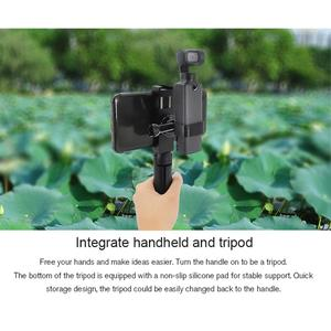 Image 5 - STARTRC el Tripod Metal telefon tutucu yuvası braketi FIMI PALM el Gimbal kamera genişletme aksesuarları