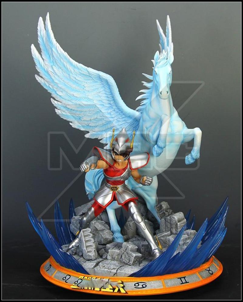 Zodiac Stardust Pegasus Meteor Fist GK Limited Statue Figure 1