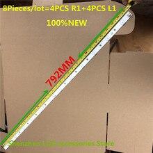 """8 أجزاء/وحدة LED الخلفية ل 39L4353D 39L2333D 39 """"LED TV SVT390A12_L_REV1.0_130314 SVT390A12_R_REV1.0_130314 100% جديد"""