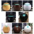 KBAYBO Mini Holz Aromatherapie luftbefeuchter Aroma Diffusor Ätherisches Öl Diffusor Luftreiniger Farbwechsel LED Touch Schalter-in Luftbefeuchter aus Haushaltsgeräte bei