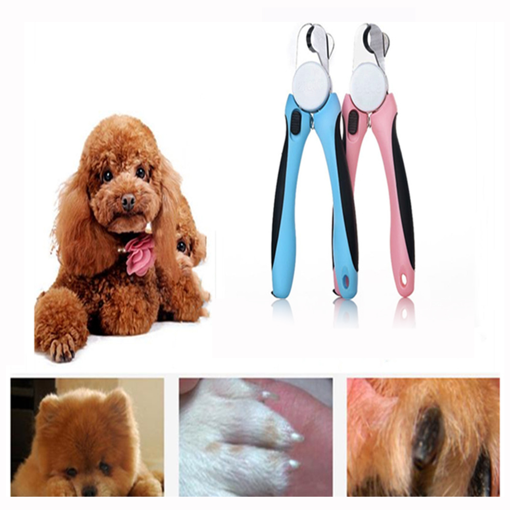 Pet Nail Clippers Dog Cat Safety Large Size Nail Scissors Professional Pet Gromming Cutters Paw Claw Trimmer with File
