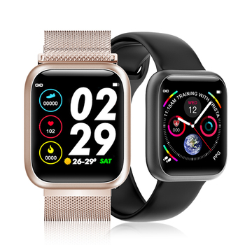 F11 Ecg Ppg Smart Watch Color Full Screen Touch Sport Watch Man Women Weather Display Multi-language Smartwach for Andriod Ios