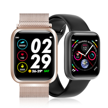F11 Ecg Ppg Smart Watch Color Full Screen Touch Sport Watch