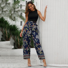 Spring Summer 2020 Women Vacation Casual Pants Boh