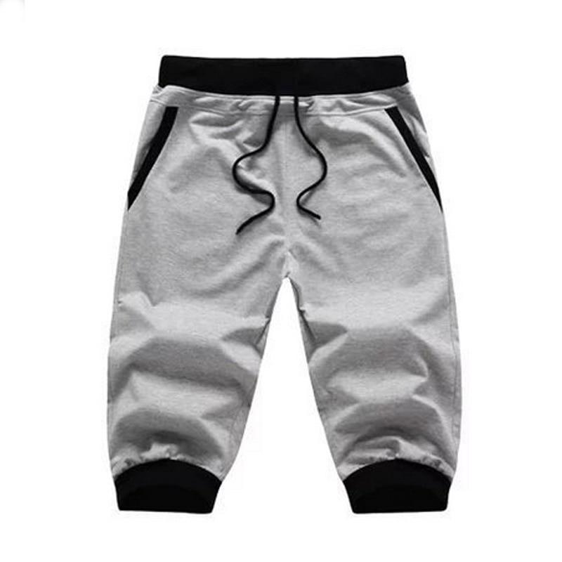 2019 Summer New Products Men's Harem Pants Capri Pants Teenager Sports Casual BOY'S Slim Fit Pants Sweatpants