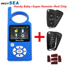 Image 2 - JMD Handy Baby Hand Held Car Remotes Copier Auto Key Programmer V9.0.5 for 4D/46/48/G/KING/Red Chip+Super Remote G/96 Function