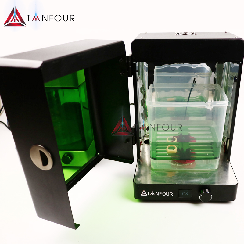 TIANFOUR G3 Cure Wash Dry Clean 3 In 1 Uv Ucre Chamber Led Rotary UV Curing Box UV Rapid Post Curing Heat Sla 3D Printer Models