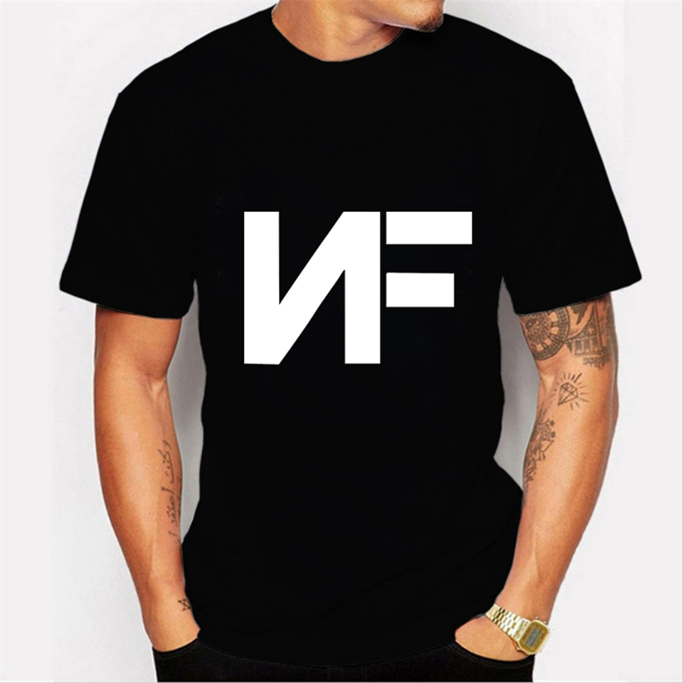 NF Trendy Black Short Sleeve Tshirt  4