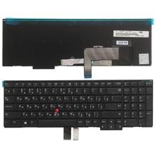 Nowy rosyjski laptop klawiatura do lenovo IBM ThinkPad W540 W541 W550s T540 T540p T550 L540 krawędzi E531 E540 RU klawiatura bez podświetlenia