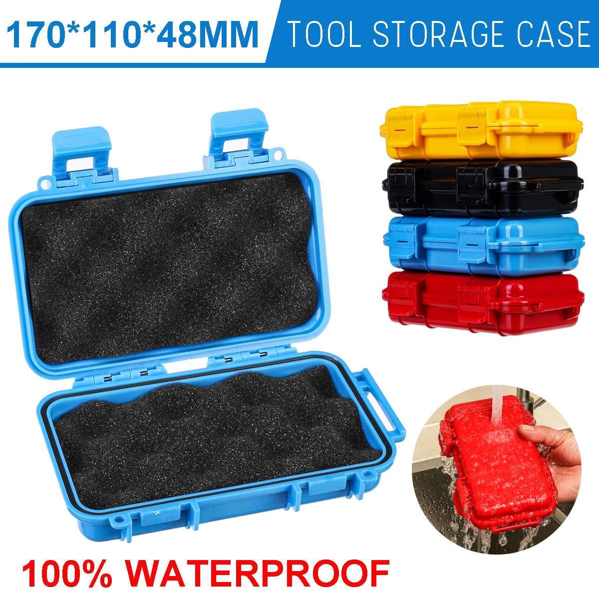 Открытый ударопрочный водонепроницаемый ящик с набором для выживания, 2 размера, герметичный чехол для хранения, инструменты для путешеств...