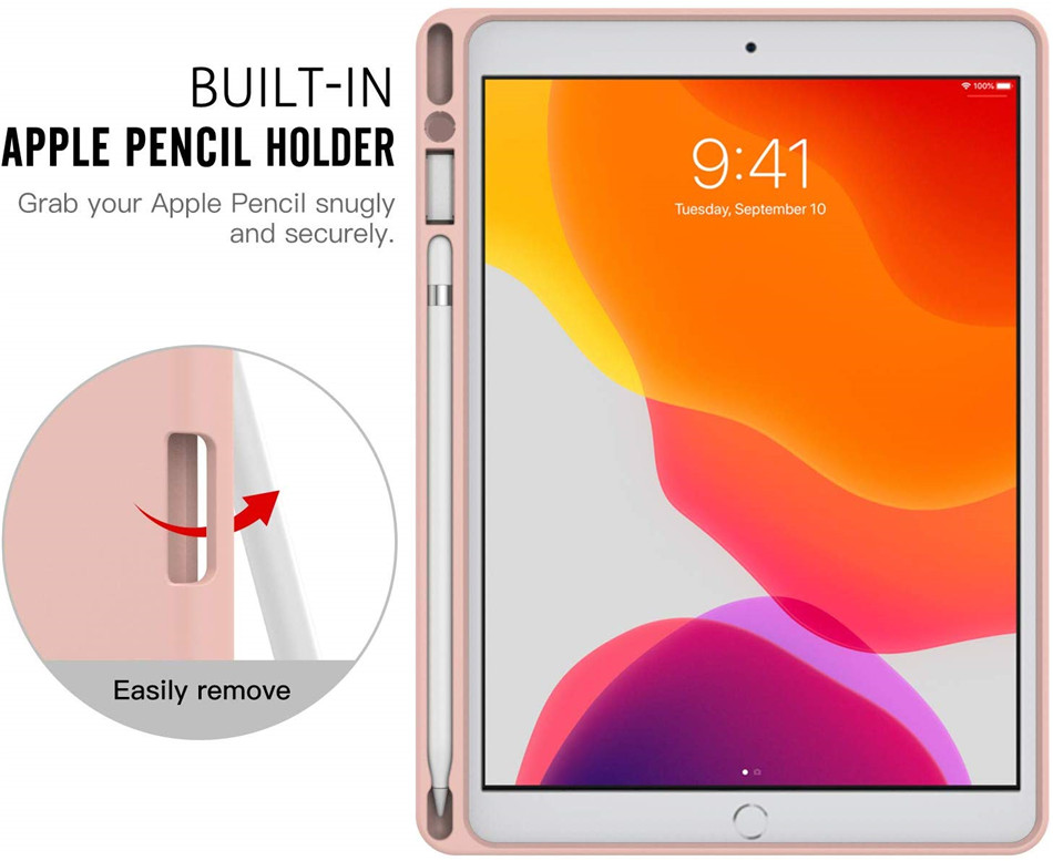 7th For Holder for 10.2 Case 10.2 2019 with iPad Fold Stand iPad Pencil Slim Generation