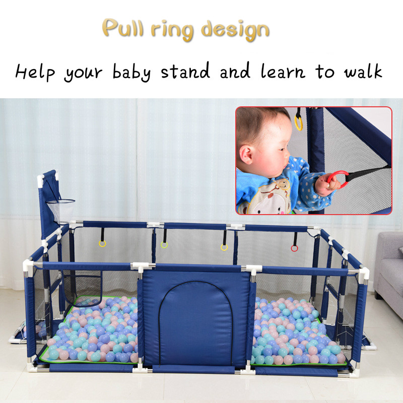 Big Children Playpen Kids Safety Barrier Baby Playpen For Child Pool Balls Newborn Fence Playpen For Baby Pool