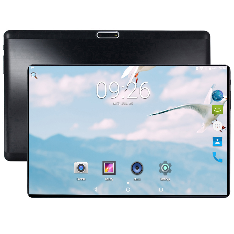2019 New Ultra Slim 10 Inch LCD Tablet 1280*800 Android 8.0 Tablet 64GB WIFI Octa Core Mobile Phablet 10.1+Gifts