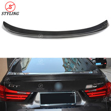 Carbon Fiber Spoiler AC Style For BMW F07 GT 5 series Gran Turismo Rear trunk spoiler wing Lci 2014 2015 2016 2017 2018+