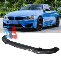 PSM Style For BMW F80 M3 F82 F83 M4 2014 up Original M Bumper M3 M4 Carbon Fiber Front Bumper Chin Lip Spoiler Car Accessories