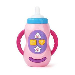Baby-Bottle-Toys Musical-Feeding-Tool Learning Kids Safe for Music-Light Sound Early-Educational