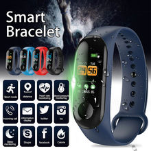 2019 Newly Smart Braclet 0.96in TFT Screen Heart Rate Sports Waterproof Sleep Monitoring Watch m99(China)