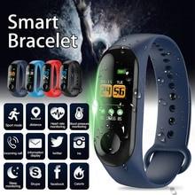 2019 Newly Smart Braclet Heart Rate Sports Waterproof Sleep Monitoring Watch men