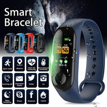 2019 Newly Smart Braclet Heart Rate Sports Waterproof Sleep Monitoring
