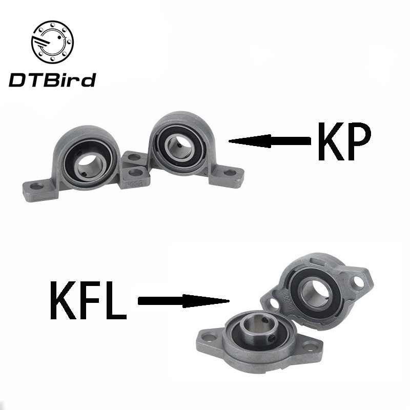 KFL08 KP08 KFL000 KP000 KFL001 KP001 Bearing Shaft Support Spherical Roller Zinc Alloy Mounted Bearings Pillow Block Housing